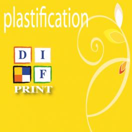 Plastification autre format