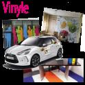 vinyle  enseigne - panneau publicitaire/m²