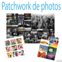 patchwork de photos